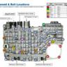 Каталог расходников для ремонта гидроблока АКПП Ford