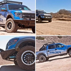 FORD F-150 RAPTOR SVT от SHELBY