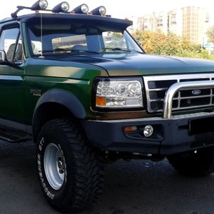 Ford Big Bronco Eddie Bauer 5.8 , 96г.
