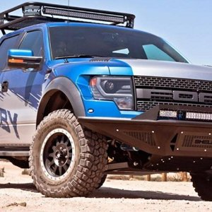 sheFORD F-150 RAPTOR SVT от SHELBY освещение